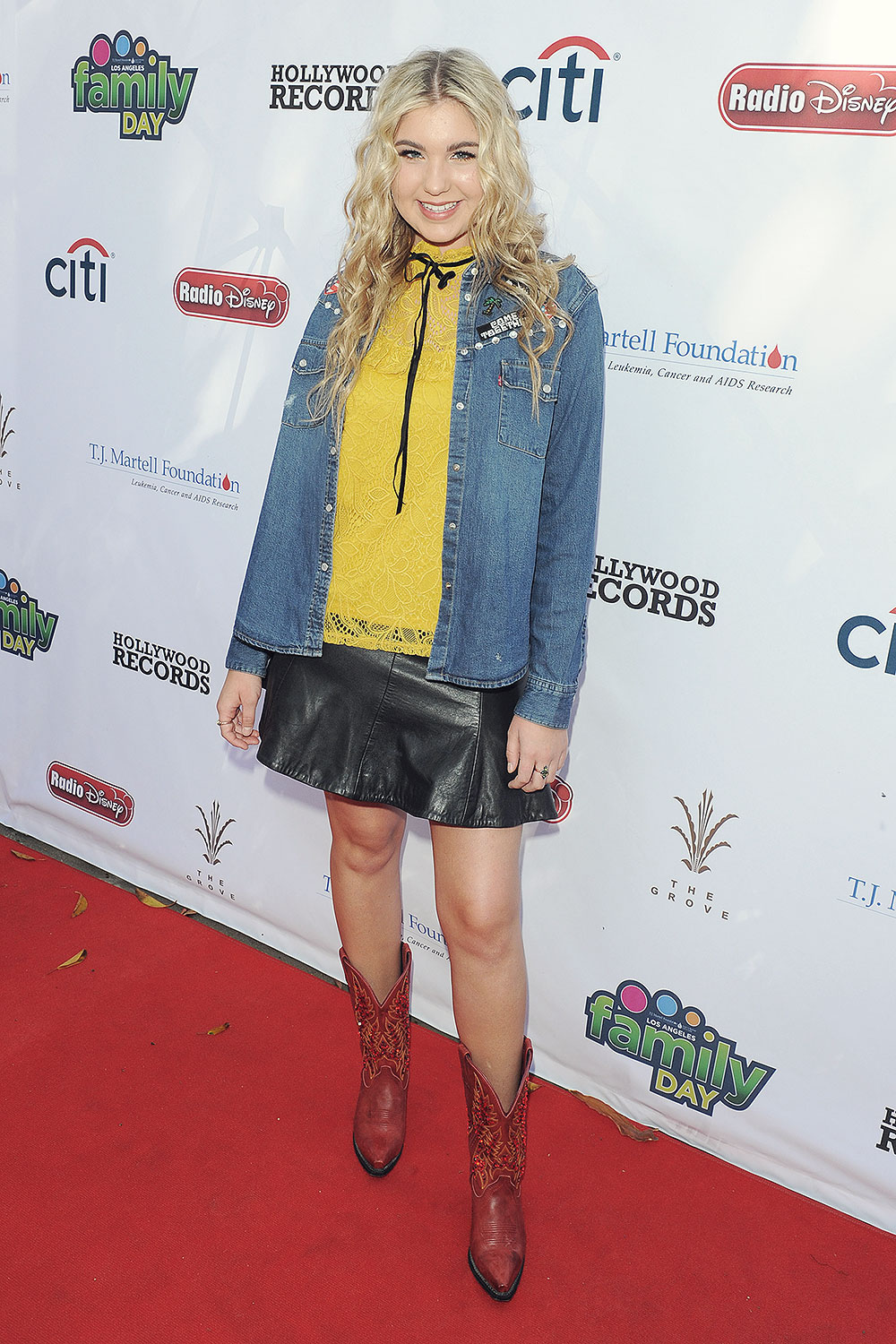 Brennley Brown attends Foundation Family Day