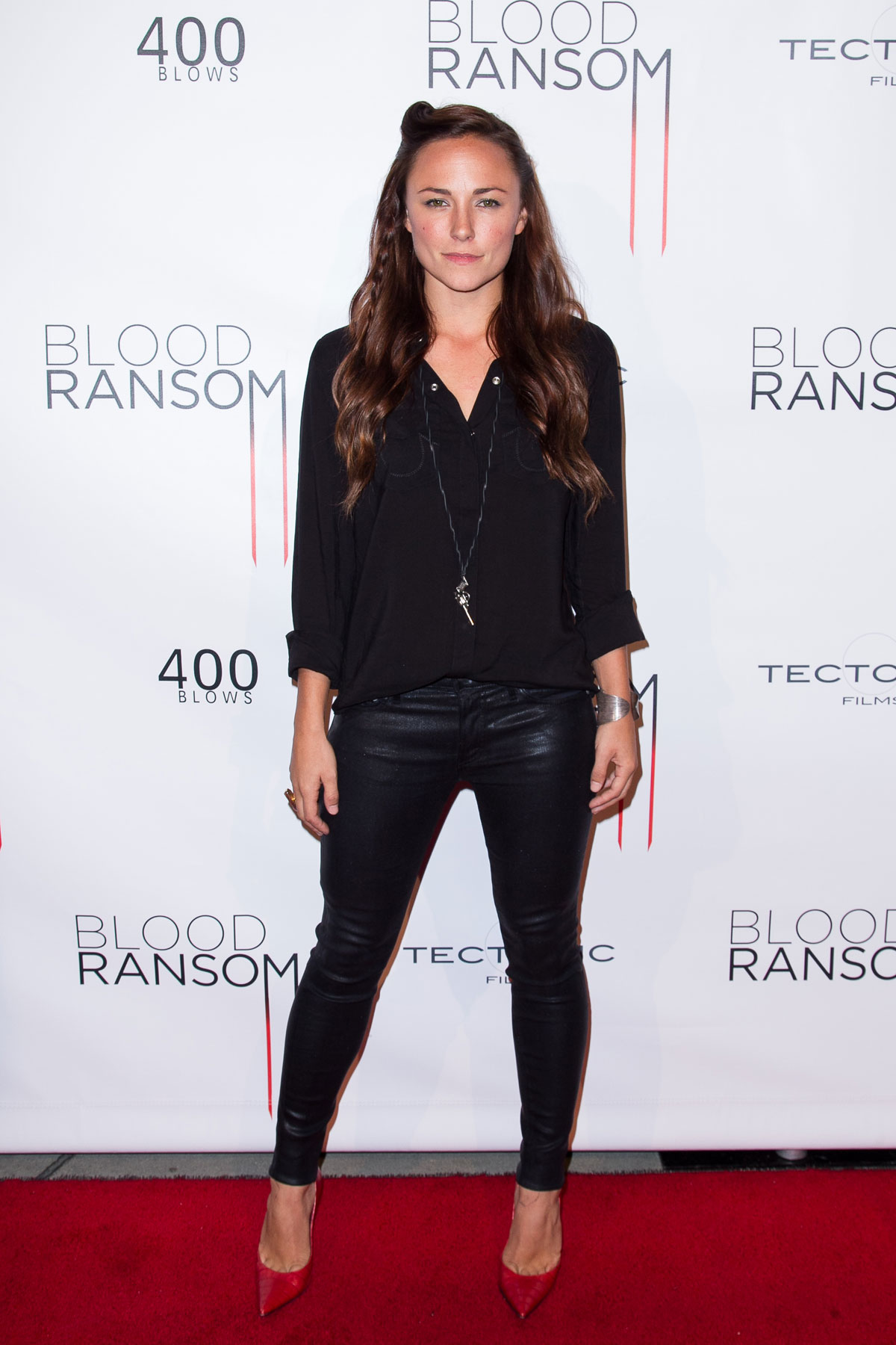 Briana Evigan attends Premiere of Blood Ransom Los Angeles premiere