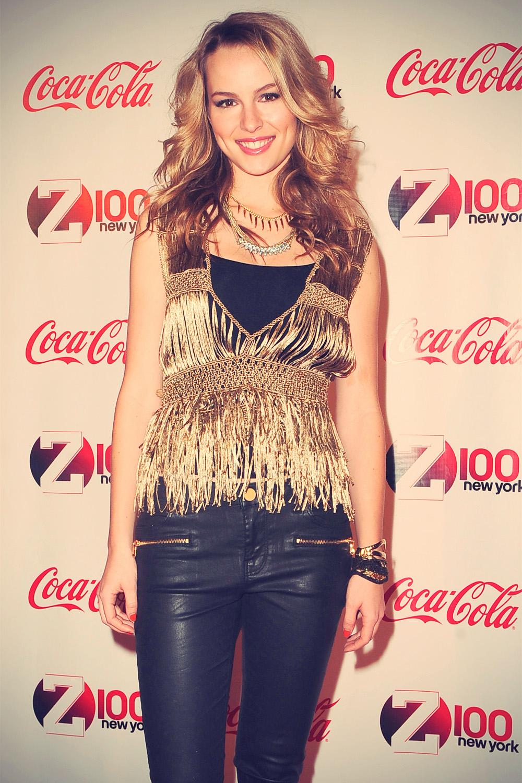 Bridgit Mendler Z100 & Coca-Cola All Access Lounge