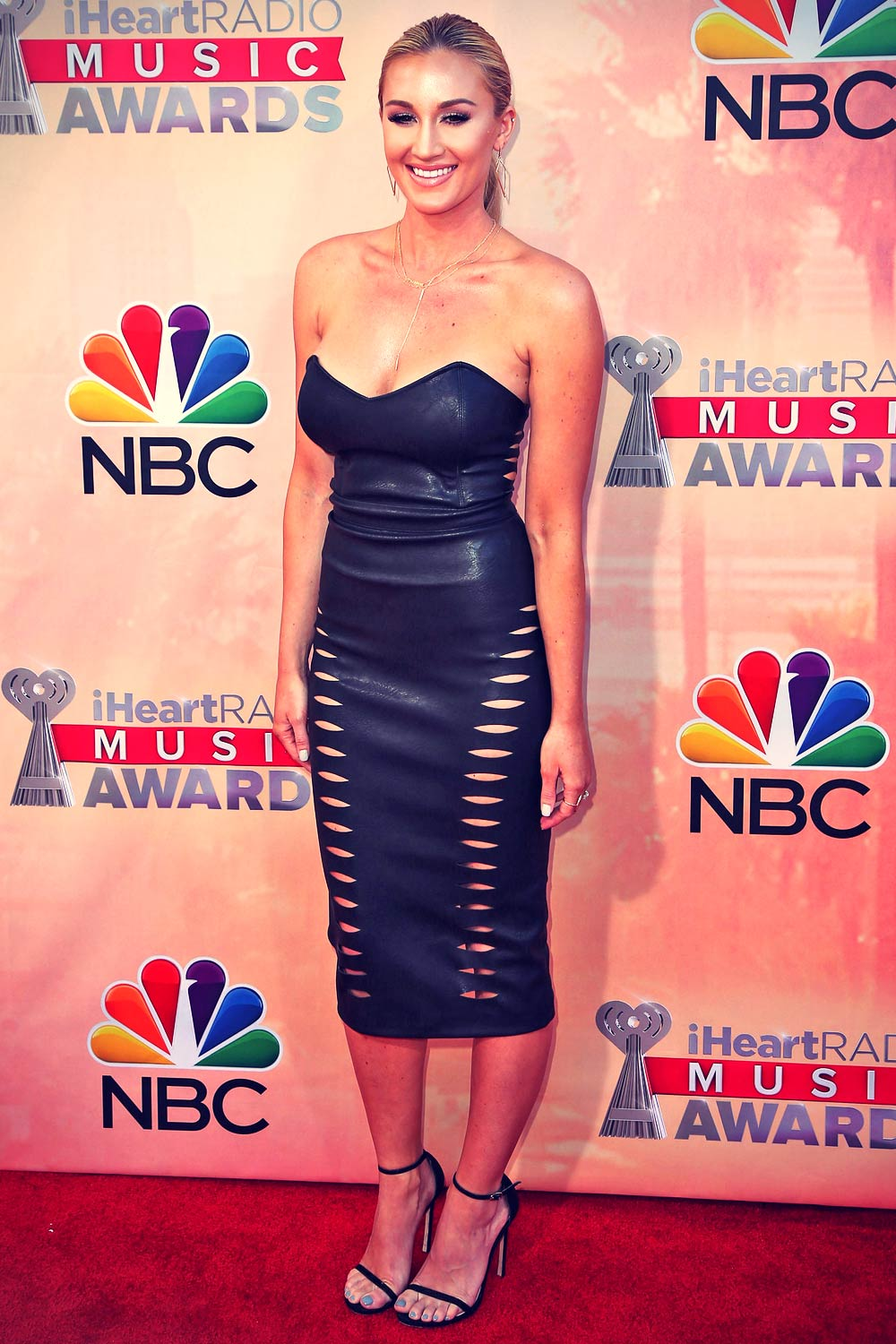 Brittany Kerr attends 2015 iHeartRadio Music Awards