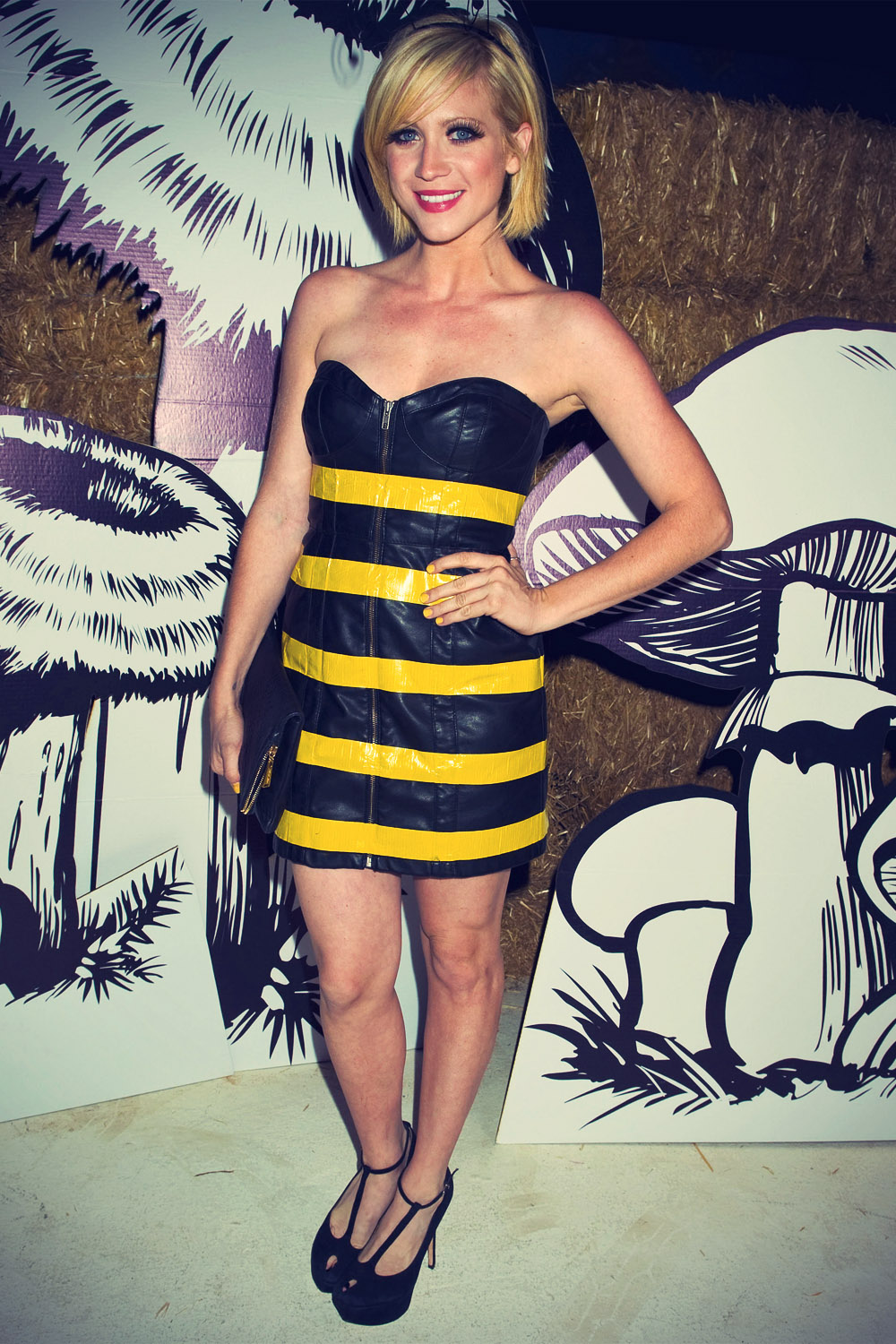 Brittany Snow at The 2012 Just Jared Halloween Party