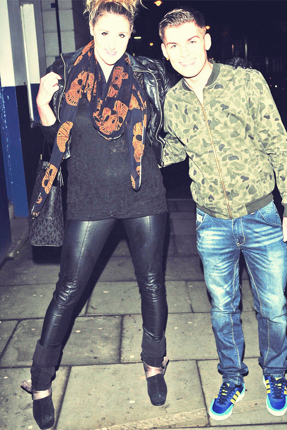 Bronagh Waugh Night out candids