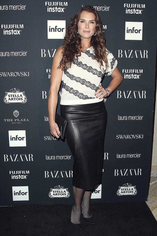 Brooke Shields attends Harper's Bazaar ICONS party ...