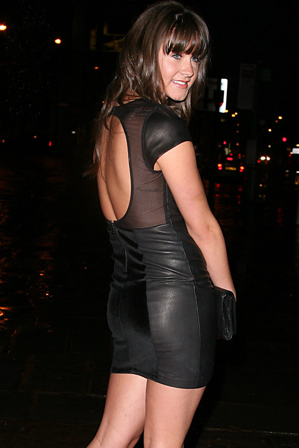 Brooke Vincent at Harvey Nichols Show 22nd Sept 2010