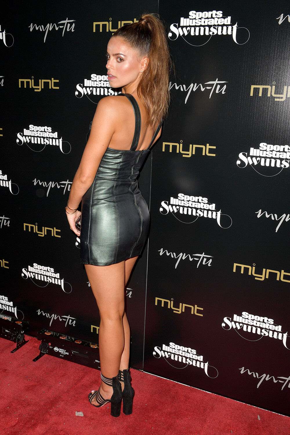Brooks Nader attends Sports Illustrated Swimsuit issue launch celebration