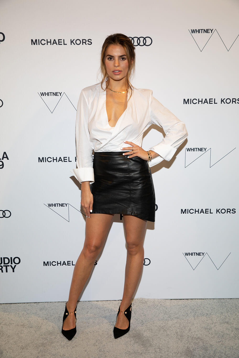 Brooks Nader attends The Whitney Museum Annual Studio Party