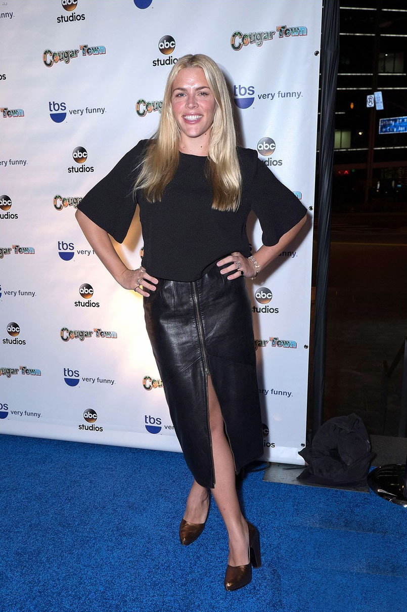 Busy Philipps Hits The Red Carpet At Cougar Town Series