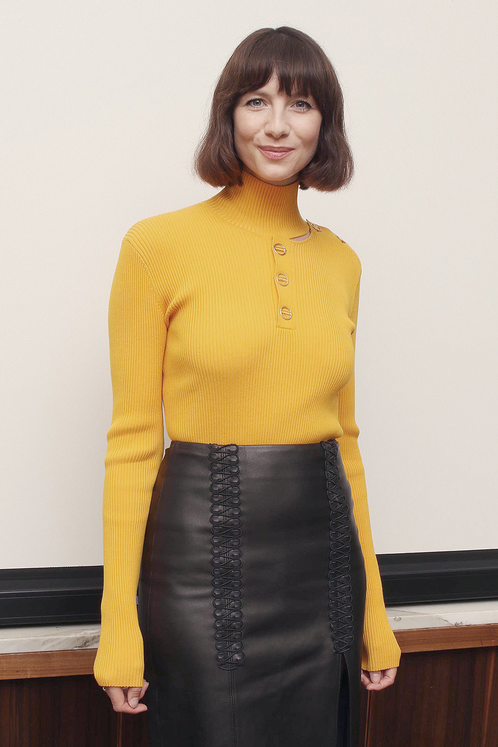 Caitriona Balfe attends Press Conference