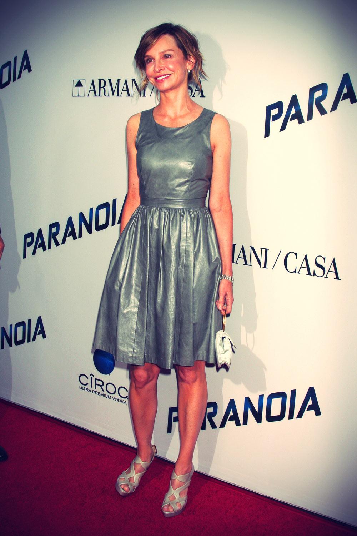 Calista Flockhart attends Paranoia Premiere