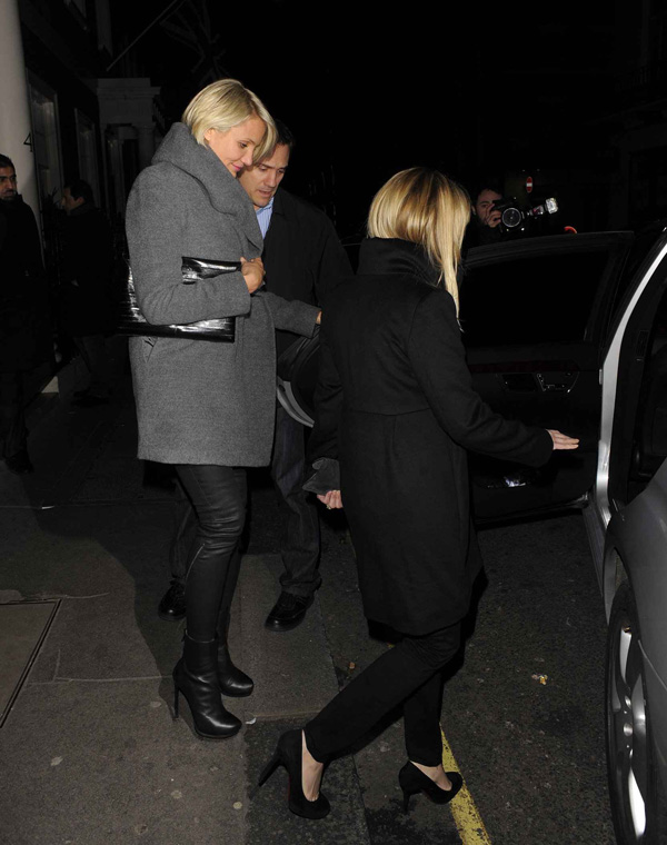 Cameron Diaz leaving The Arts Club in London