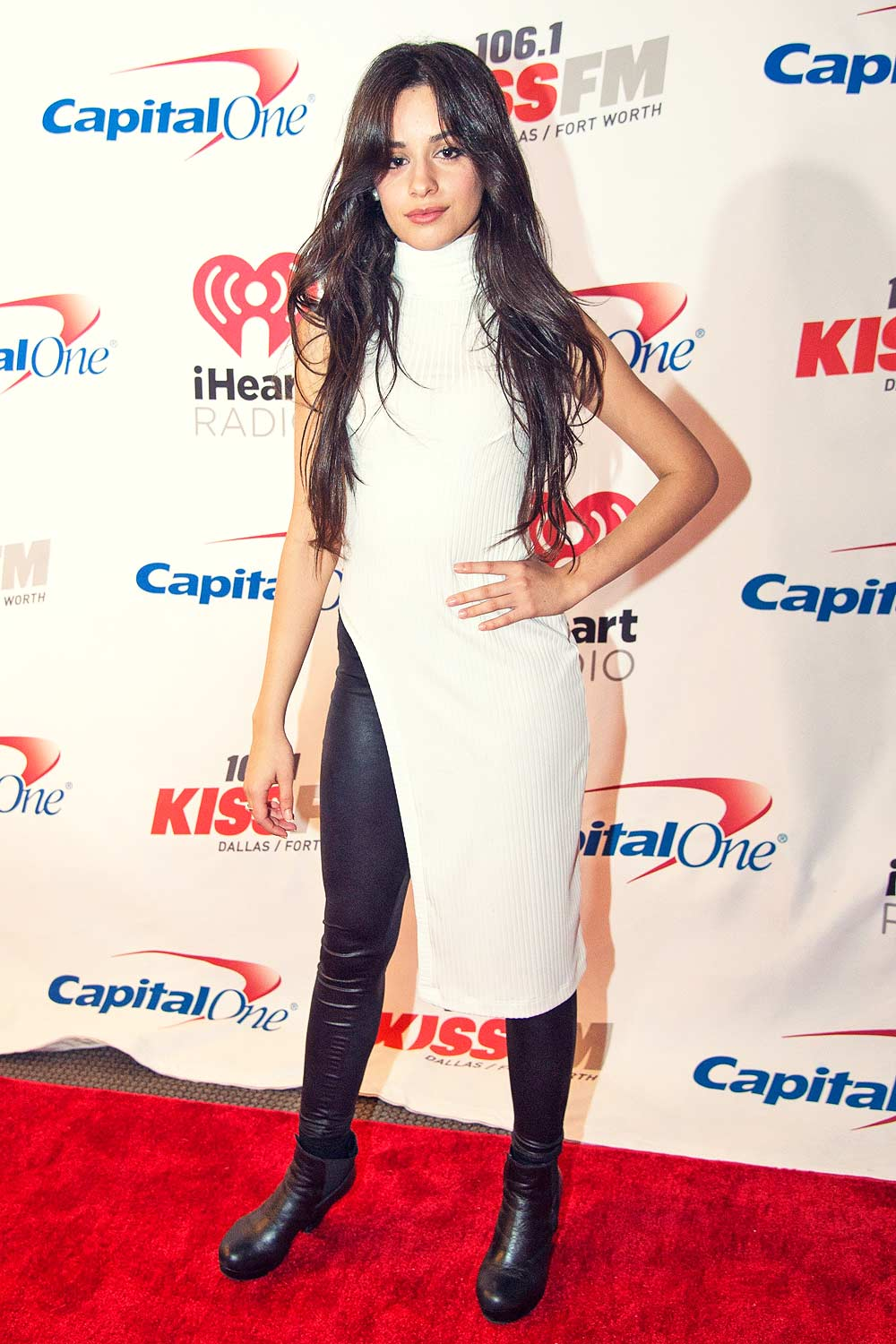 Camila Cabello At 106 1 Kiss Fm S Jingle Ball 2015