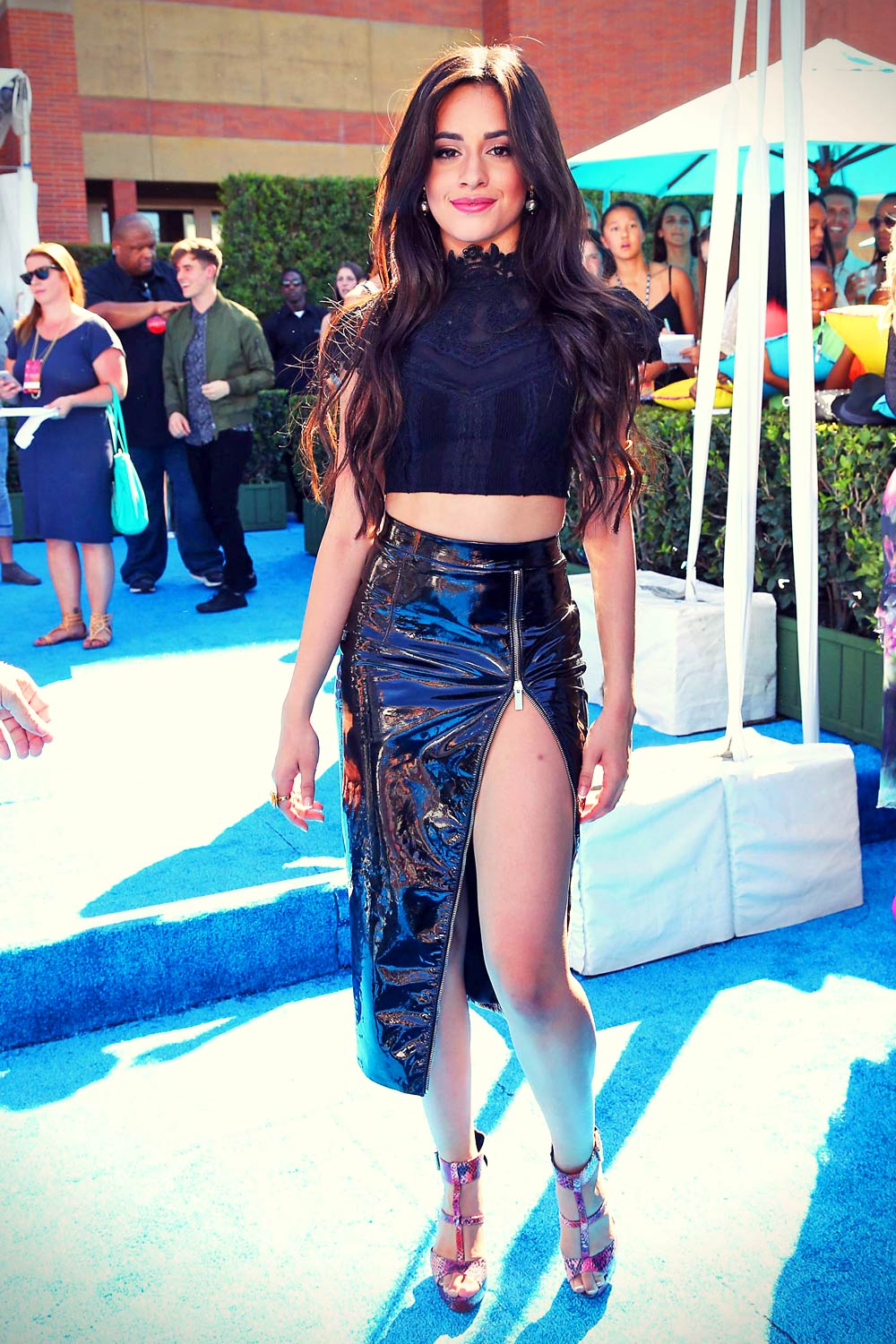 Camila Cabello attends 2015 Teen Choice Awards