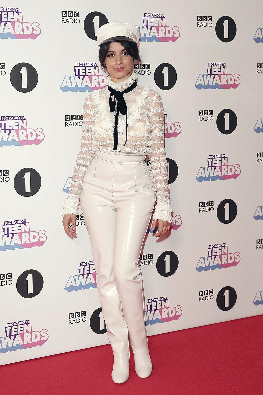 Camila Cabello Attends Bbc Radio 1 Teen Awards Leather
