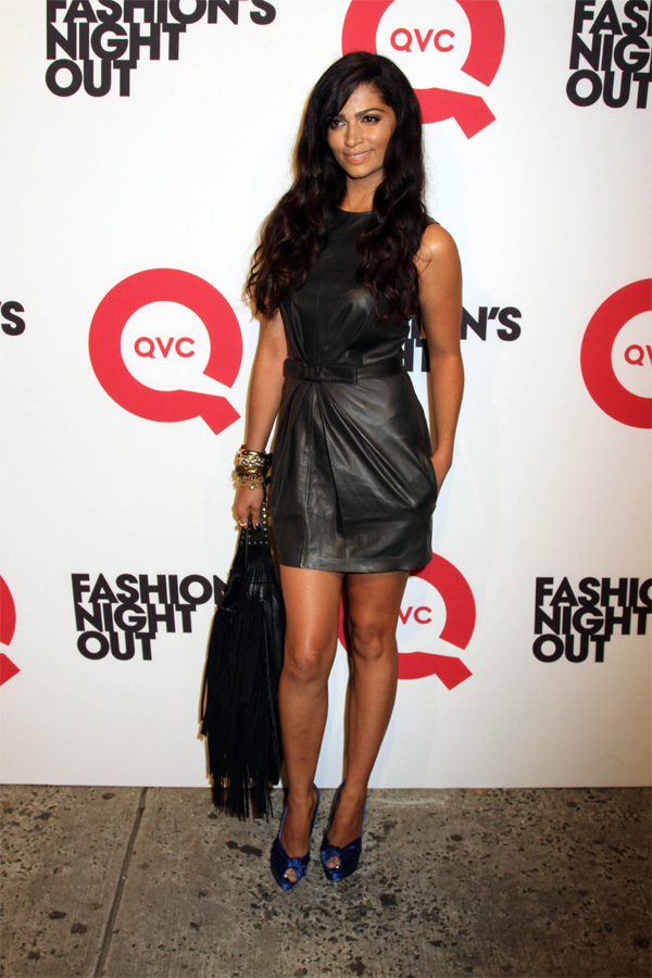 Camila Alves Fashion's Night Out In NYC