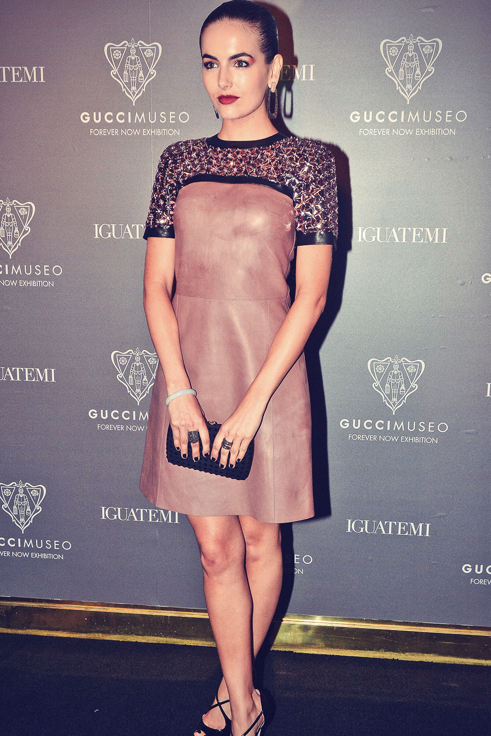 Camilla Belle attends Gucci Museo Forever Exhibit Opening