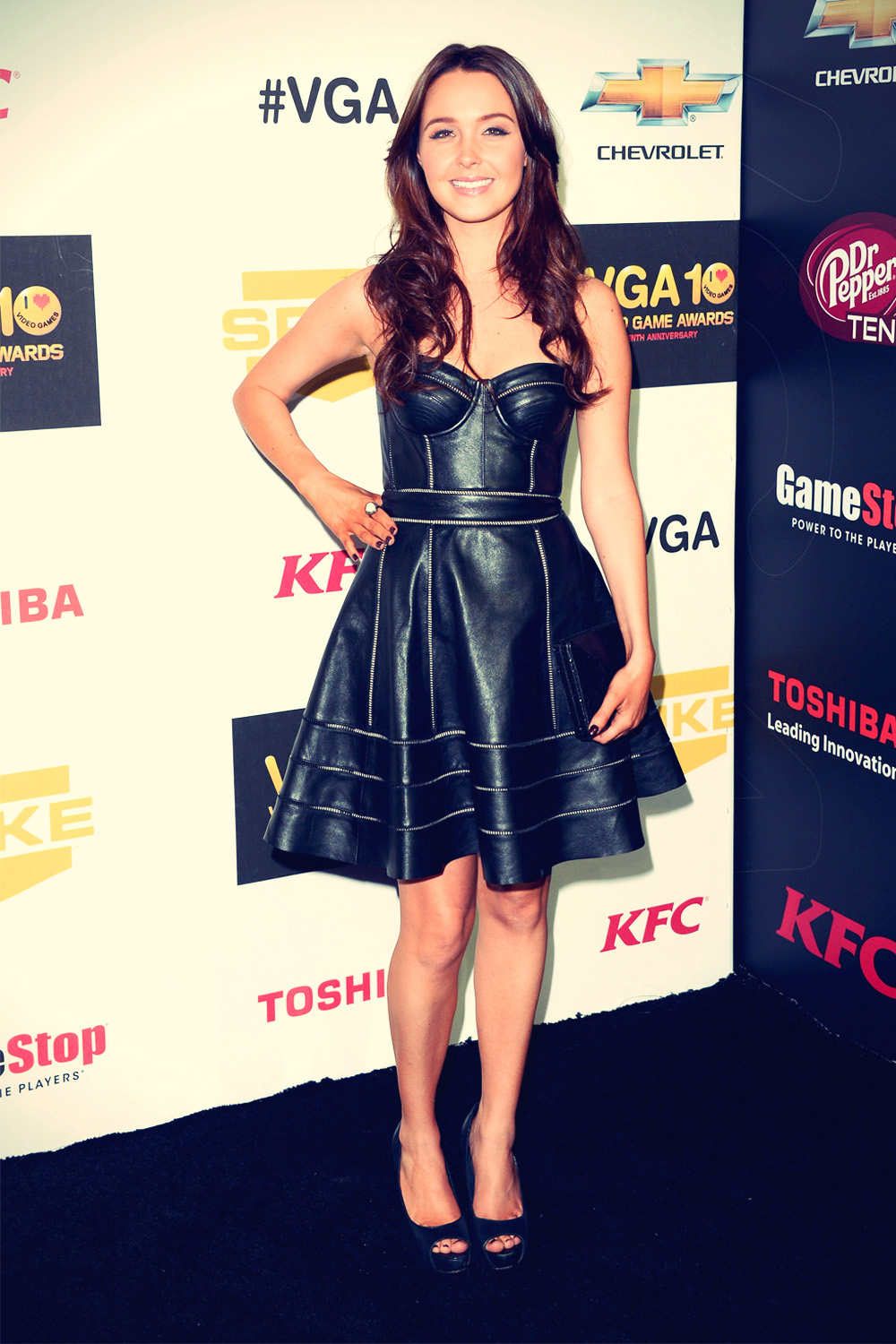 Camilla Luddington attends Spike TV's 10th annual Video Game Awards