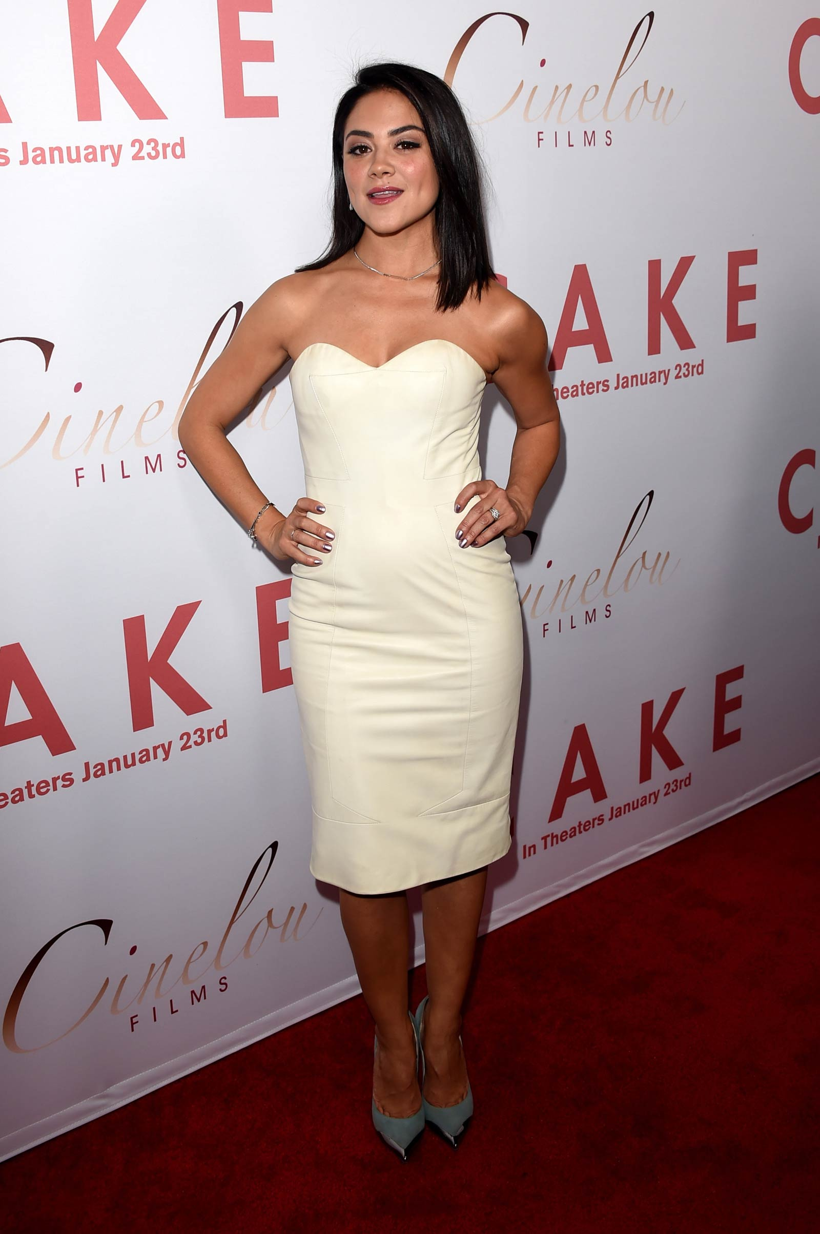 Camille Guaty attends Cake Premiere