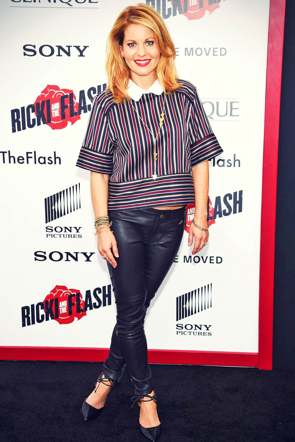 Candace Cameron attends Ricki And The Flash Premiere