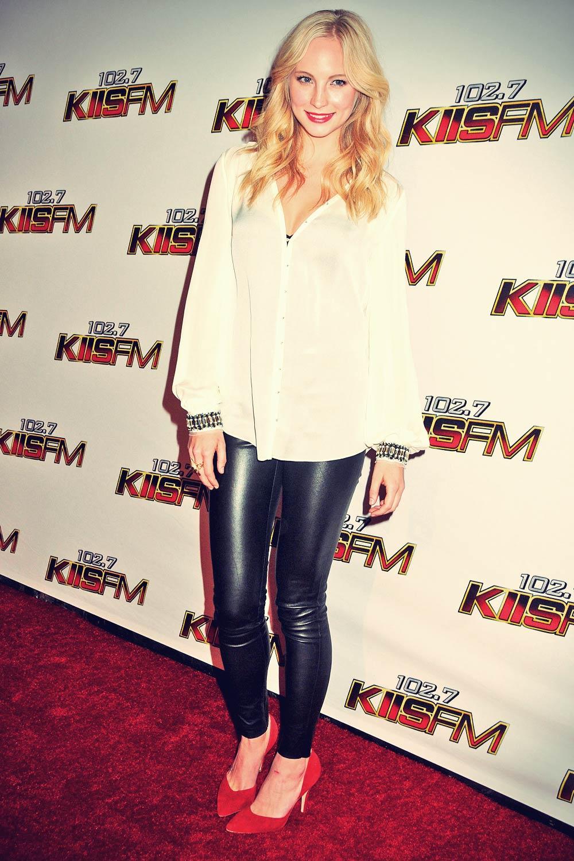 Candice Accola at KIIS FM Jingle Ball