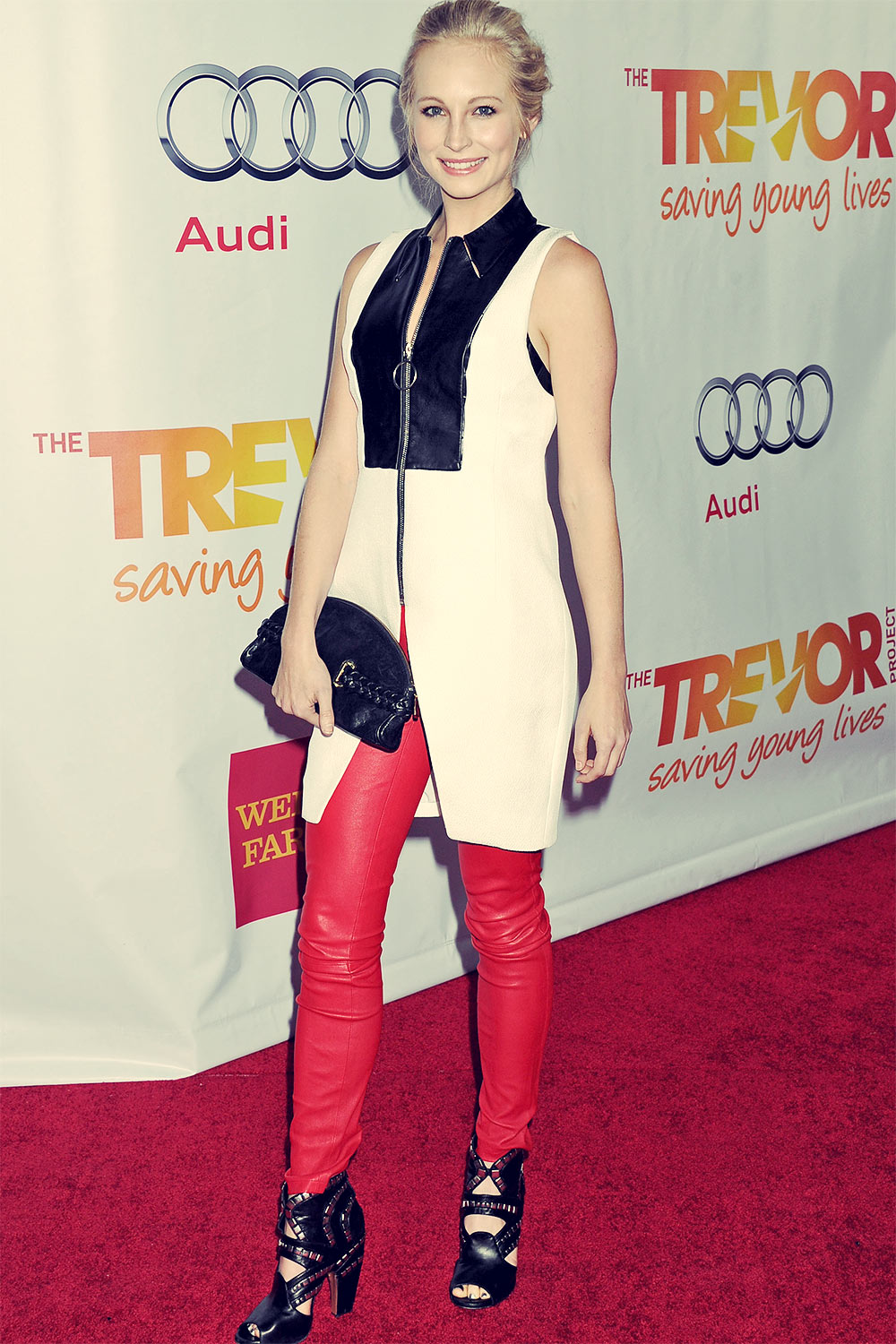 Candice Accola attends Trevor Project TrevorLIVE honoring Jane Lynch