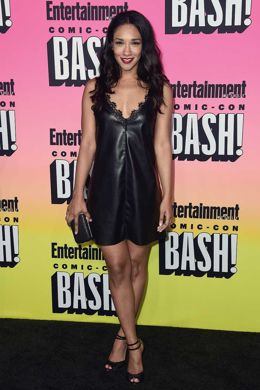 Candice Patton attends Entertainment Weekly Comic-Con Party
