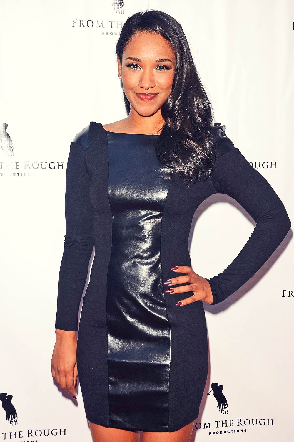 Candice Patton attends From The Rough screening