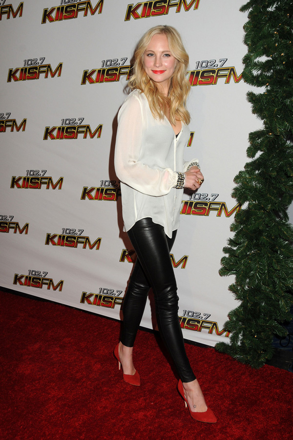 Candice Accola at KIIS FM Jingle Ball in LA