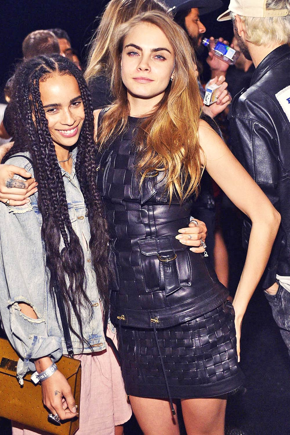 Cara Delevingne attends Olivier Rousteing's Birthday Party