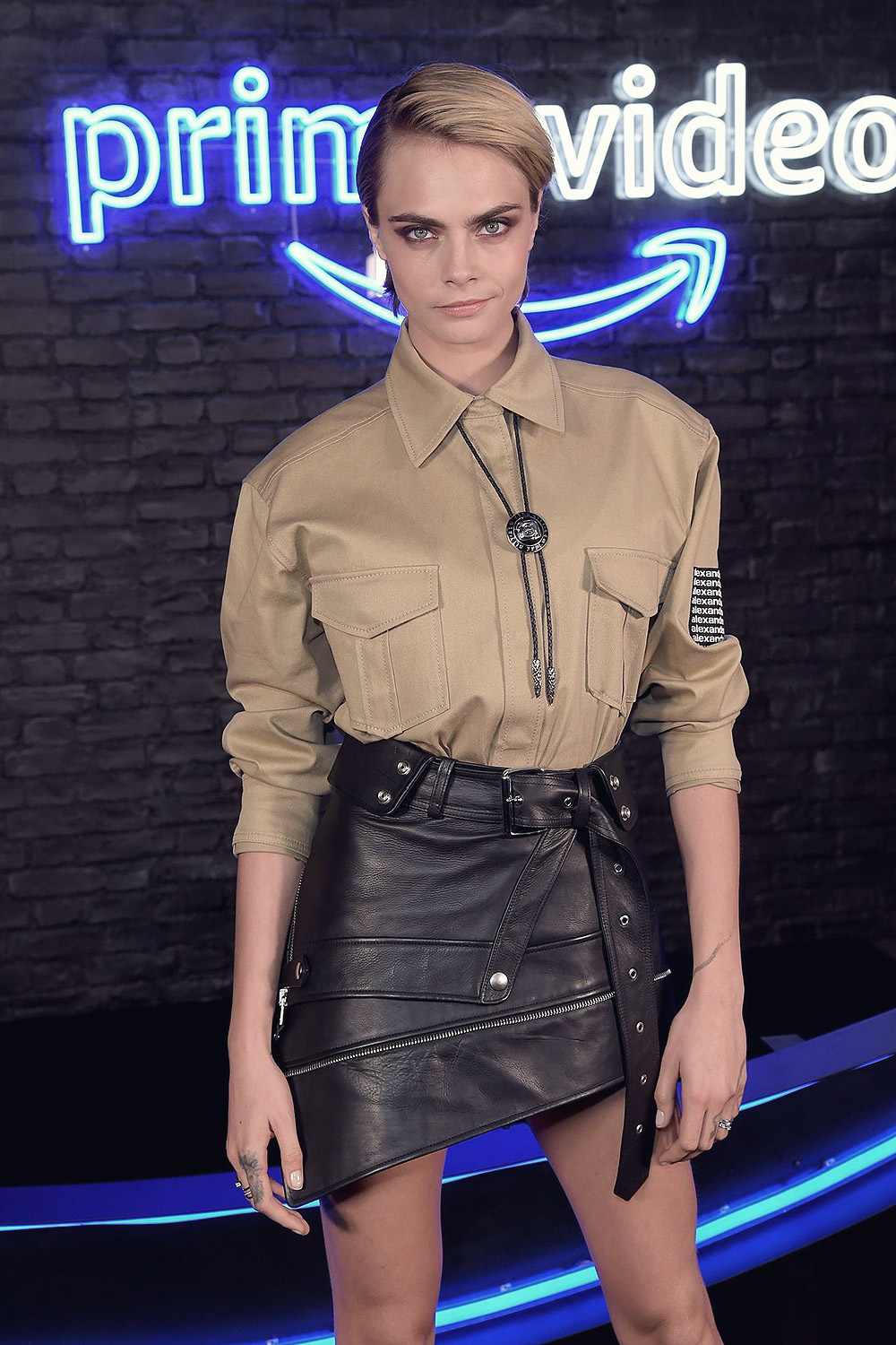 Cara Delevingne attends the Amazon Prime Video Europe Autumn Party