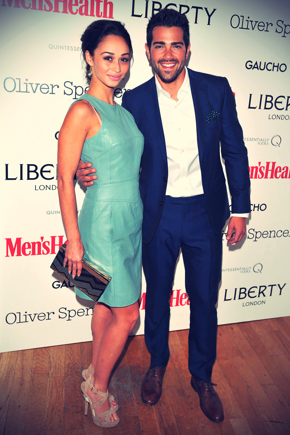 Cara Santana attends the Men's Health x Liberty x Oliver Spencer party