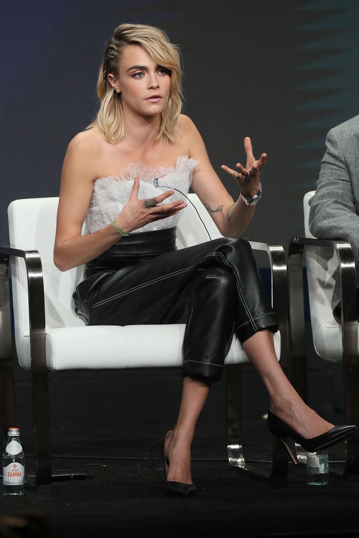 Cara Delevingne attending 2019 Summer TCA Press Tour