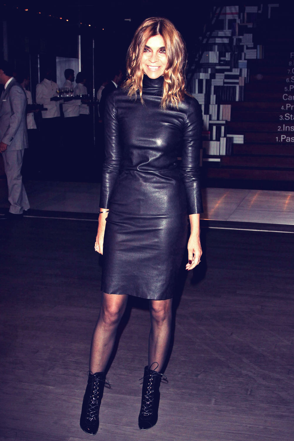 Carine Roitfeld attends Prada book launch cocktail