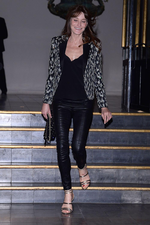Carla Bruni attends Vogue Paris Foundation Gala