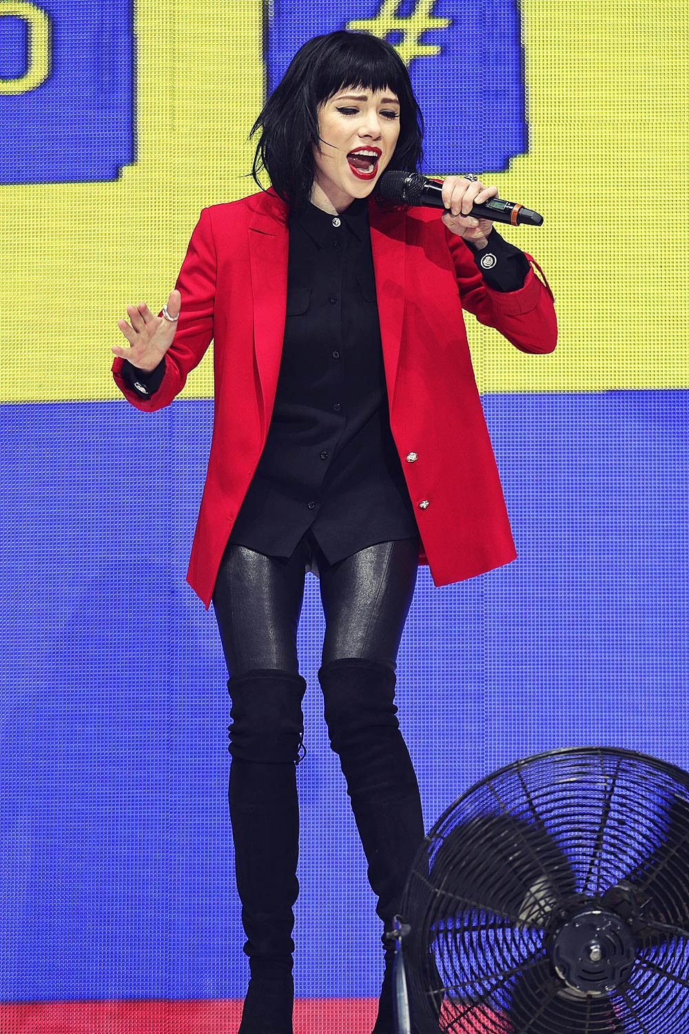 Carly Rae Jepsen attends Jingle Bell Ball 2015