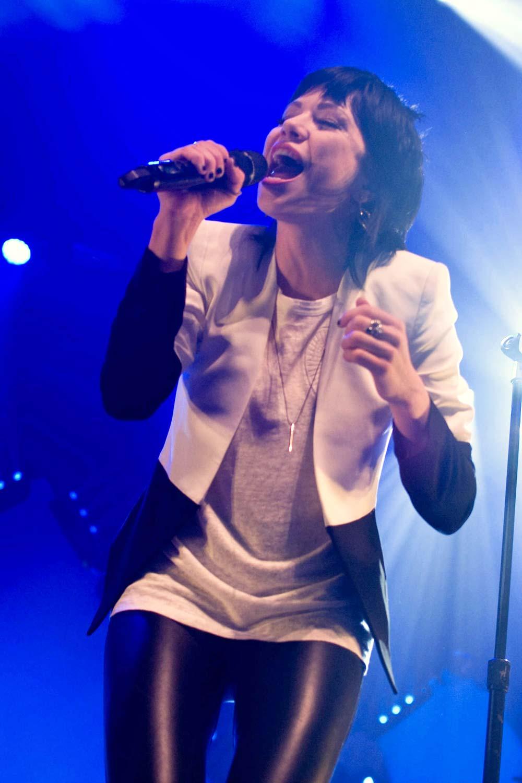 Carly Rae Jepsen performs at Terminal 5