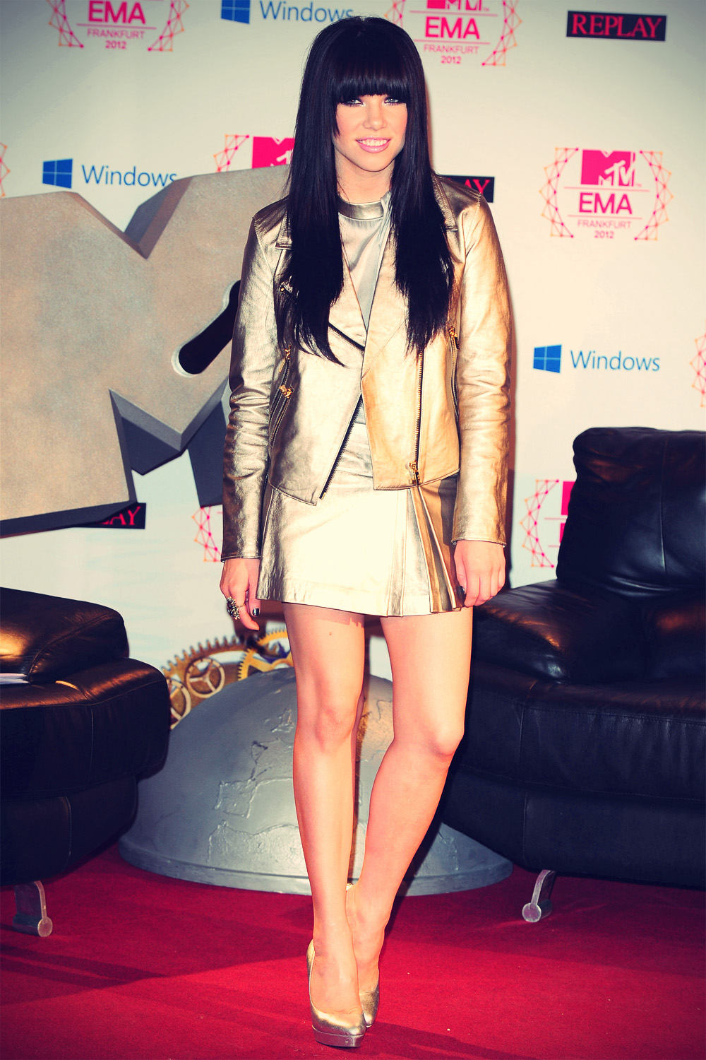 Carly Rae Jepsen at 2012 MTV EMA