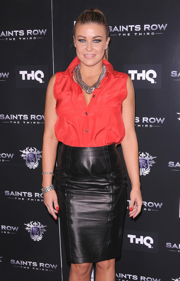 Carmen Electra Saints Row: The Third THQs Exclusive Premiere in Hollywood