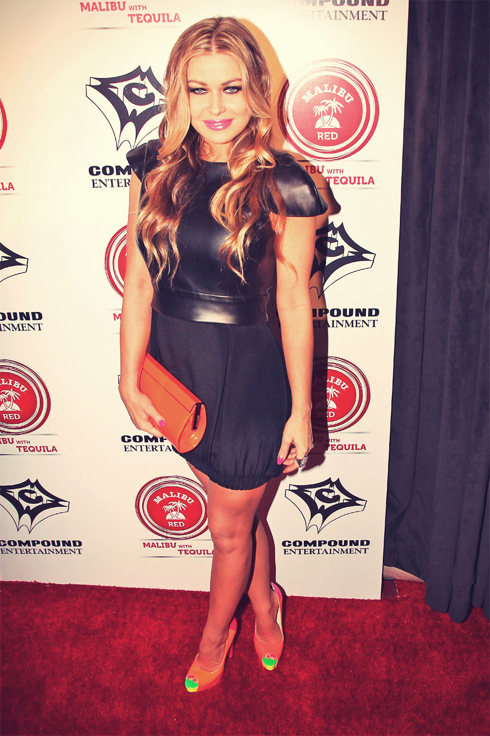 Carmen Electra attends Pre-GRAMMY party