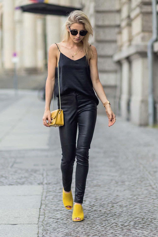 Caroline Caro Daur Out In Berlin Leather Celebrities