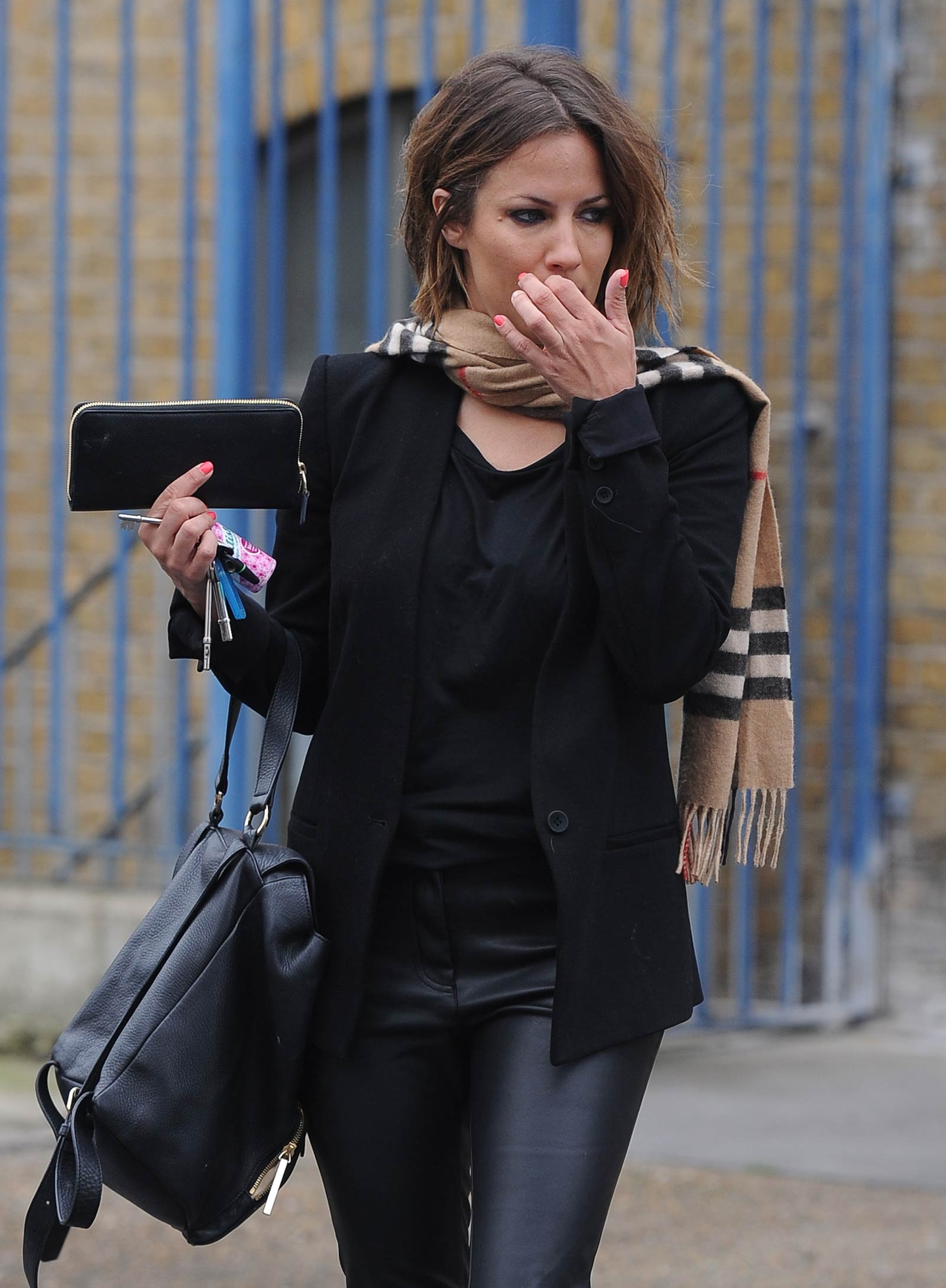 Caroline Flack at Rehearsal studios in West London