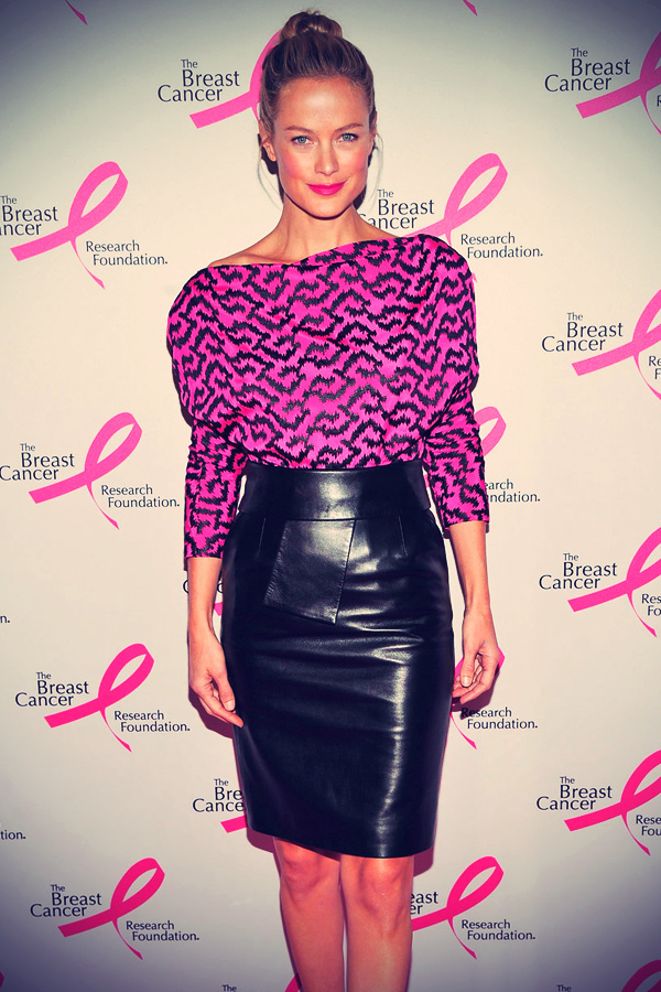 Carolyn Murphy attends The Breast Cancer Research Foundation