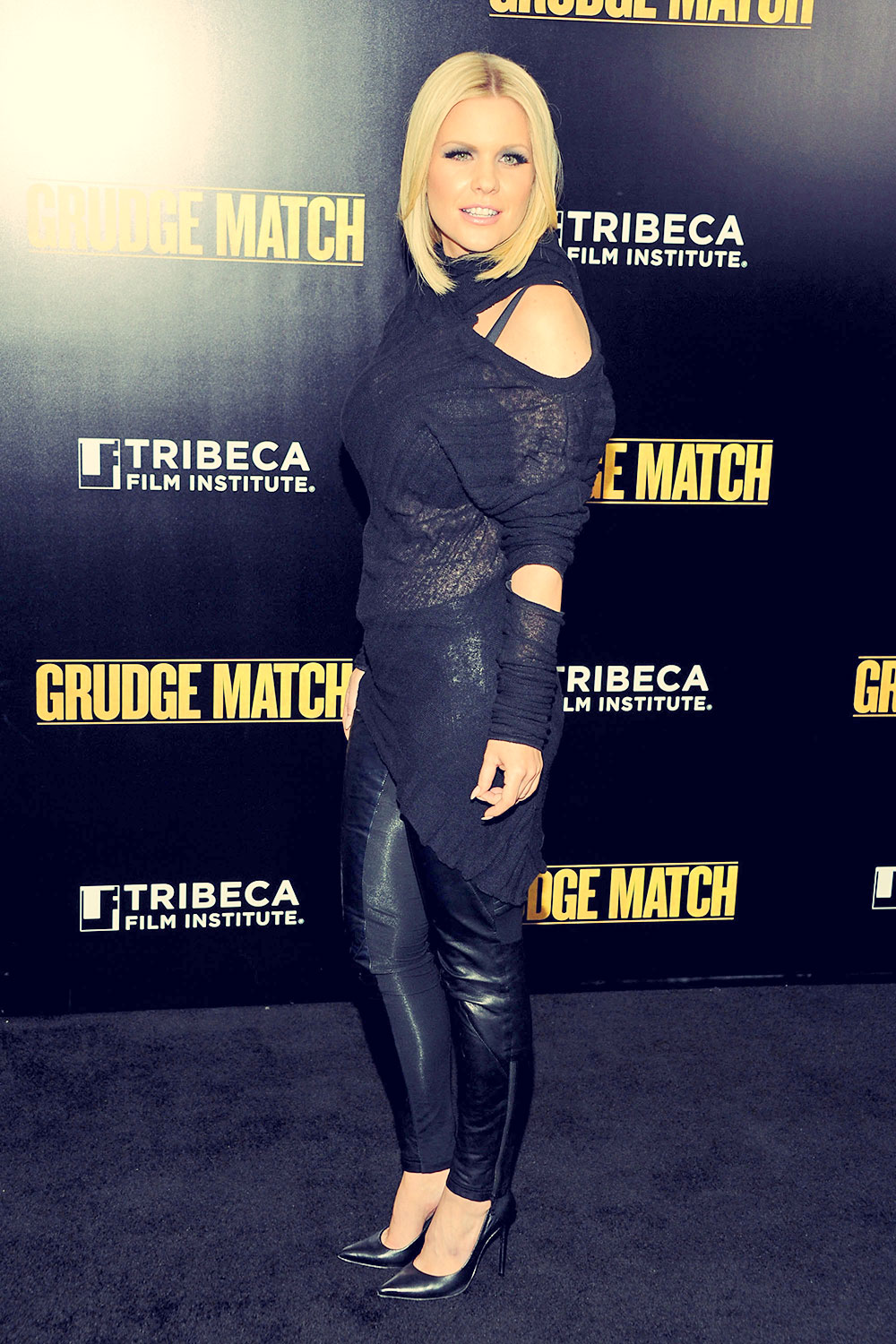 Carrie Keagan Attending the Grudge Match screening