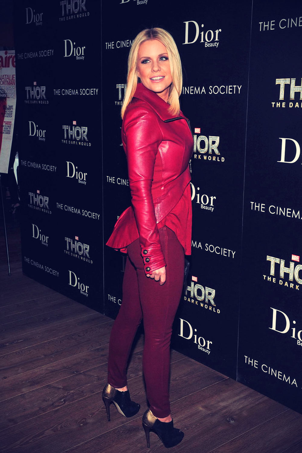 Carrie Keagan attends a screening of Thor The Dark World
