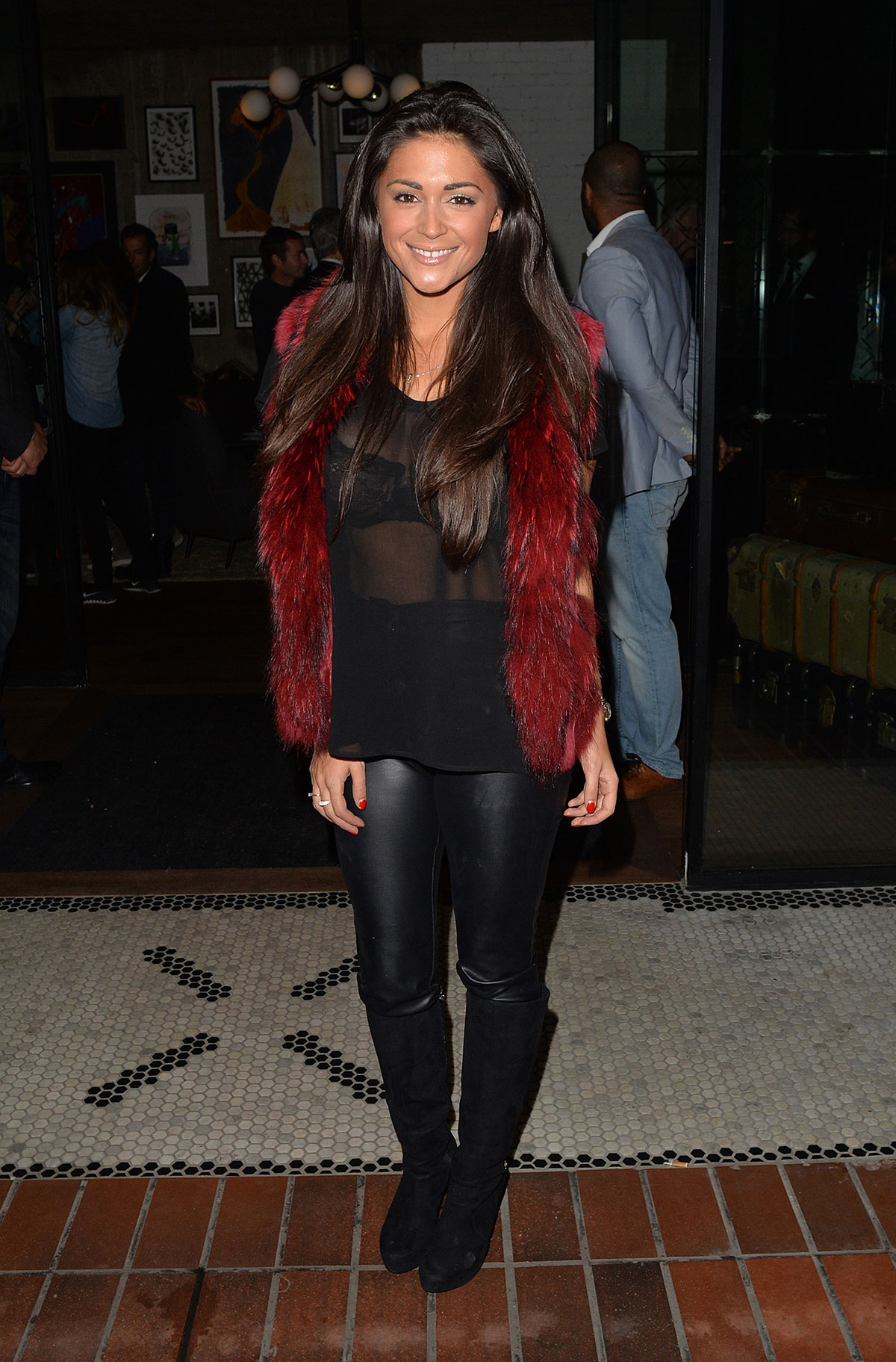 Casey Batchelor attends Hoxton Holborn hotel opening party