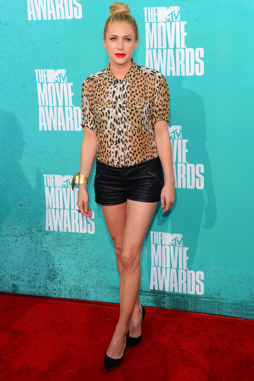 Casey LaBow at MTV Movie Awards
