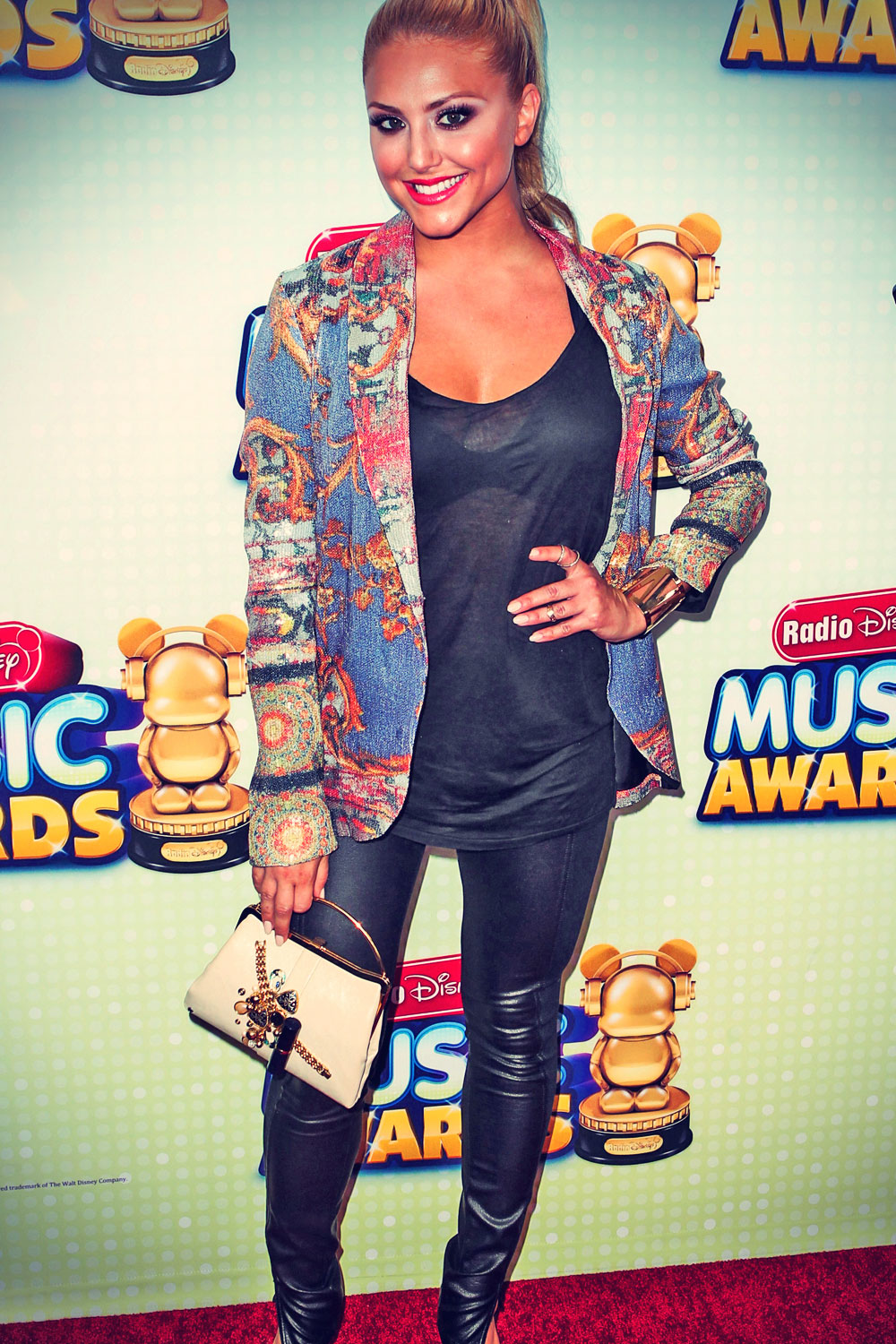 Cassie Scerbo attends Radio Disney Music Awards 2013
