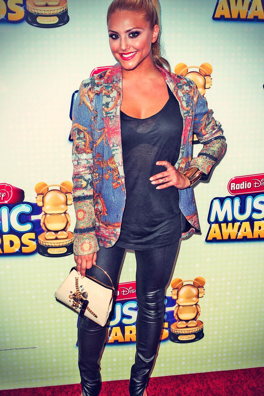 Cassie Scerbo attends Radio Disney Music Awards 2013