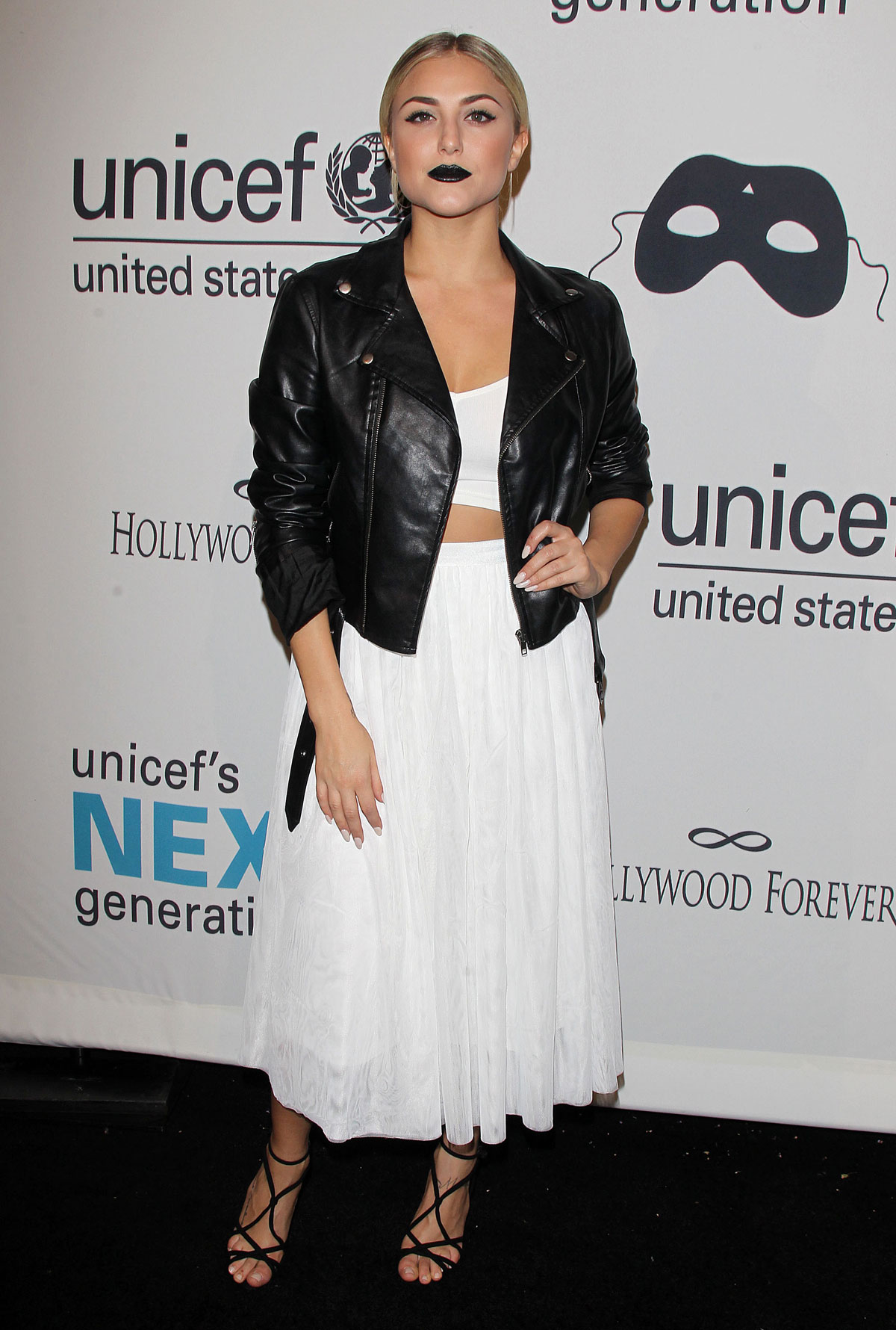Cassie Scerbo set UNICEF's Next Generation's 2nd Annual UNICEF Masquerade Ball