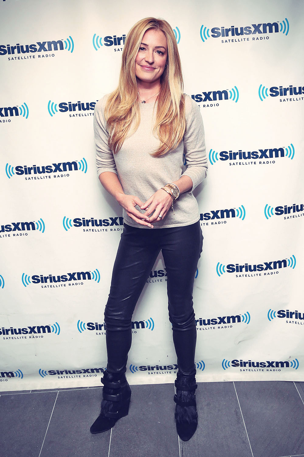 Cat Deeley attends SiriusXM Studios