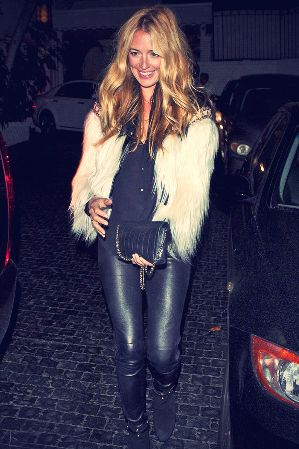 Cat Deeley leaves the Chateau Marmont